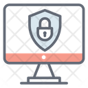 Authentication Data Protection Cybersecurity Icon