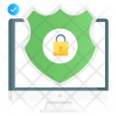 System Lock System Protection System Safety Icon