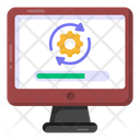 Software Installation System Reload System Refresh Icon