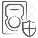 System Safety System Security Encryption Icon