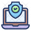 System Security Data Privacy Data Protection Icon