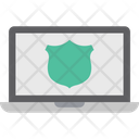 Cybersecurity It Security Laptop Security Icon