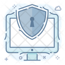 System Security Hardware Protection System Protection Icon