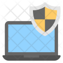System Security Firewall Icon