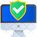 System Security Computer Security Protection Icon