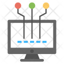 System Seo Network Icon