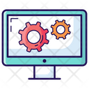 System Setting System Development System Configuration Icon