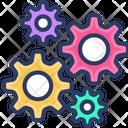 System Setting Control Gear Icon