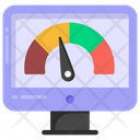 System Speed System Performance Online Speed Test Icon