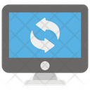 Web Synchronization Data Sync Backup Icon