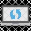 Backup Data Sync System Sync Icon