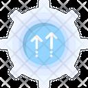 System Update Cogwheel Sync Icon