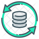 System Update Data Database Icon