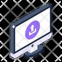 System Upload Online Upload Data Uploading Icon