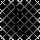 T Alphabet Symbol Icon