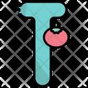 T Alphabet Education Icon