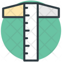 T Square Ruler Icon
