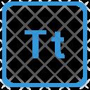 T alphabet Icon
