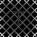 T Letter Key Icon
