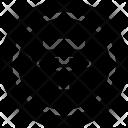 T Coin Blockchain Technology Icon