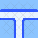 Map Navigation T Junction Icon