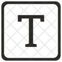 T letter Icon