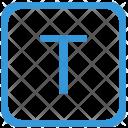 Key T Upper Icon