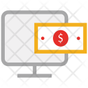 T Screen Dollar Icon