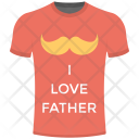 Tshirt Father Day Icon