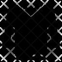 T Shirt Shirt Vneck Icon