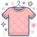 Cloth Shirt T Shirt Icon