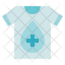Blood Donation Medical T Shirt Icon
