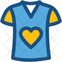 Shirt T Valentine Icon
