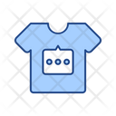 T Shirt Advertising Icon