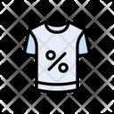 Shirt Cloth Sale Icon