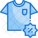 T Shirt Discount Icon