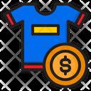 T Shirt Price Icon