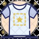 T Shirt Printing Icon