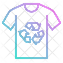 T Shirt Recycle Icon