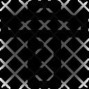 T Square Ruler Architectural Icon