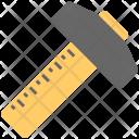 T Square Carpenter Scale Icon