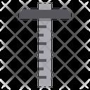 T Square Measurement Tool Icon