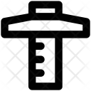 T Square T Ruler Icon
