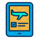 Online Flight Booking Online Booking Online Checking Icon