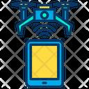 Drone Tab Control Drone Remote Range Icon
