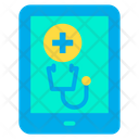 Tablet Device Medical Application Icon