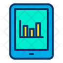 Tab Tablet Bar Chart Icon