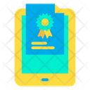Tab Certificate Icon