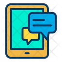 Online Chat Chat Bubble Tab Icon