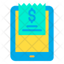 Tab Tablet Invoice Icon